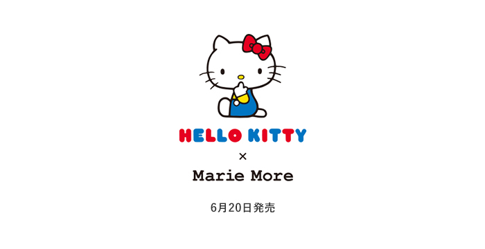 HELLO KITTY × Marie More